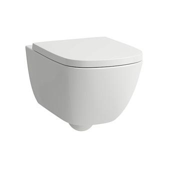 Laufen Palomba Унитаз подвесной 54х36х26.5см., безободковый смыв Rimless, цвет белый