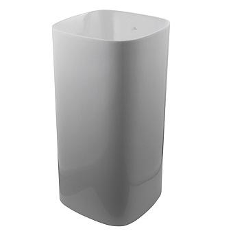 Noken Arquitect Раковина 42 см, без отв., без перелива, цвет: белый