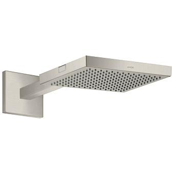 Axor Shower Верхний душ 24x24см., с настенным держателем 41.1-45.8см., цвет: сталь