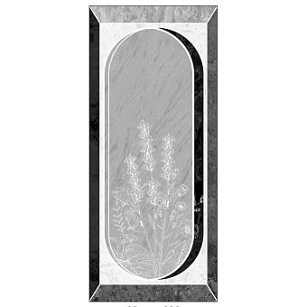 Ornamenta Operae Керамическая плитка 120х278см, настенная, декор: Scenery Cold
