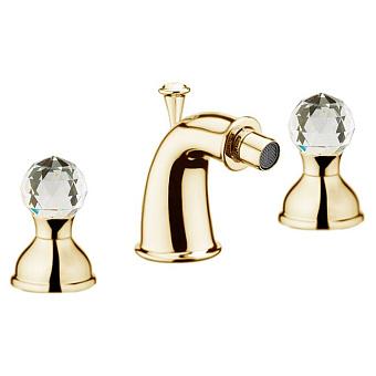 Смеситель для биде Webert Karenina КА710202 Золото/кристаллы Swarovski