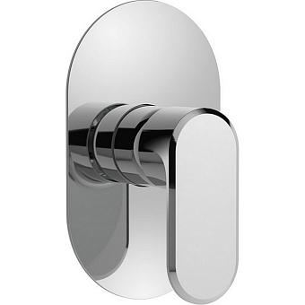 CISAL LineaViva Встраиваемый однорычажный смеситель для душа, цвет хром