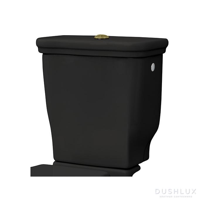 Artceram Hermitage Бачок для напольного унитаза 42х41см, цвет: черный