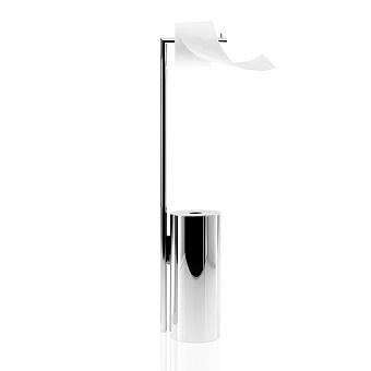 Decor Walther Straight 9 Держатель туалетной бумаги 81см, напольный, цвет: хром