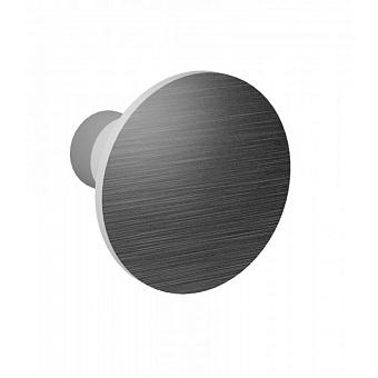 Крючок матовая сталь Bongio Time 2020, подвесной монтаж, цвет: матовая сталь
