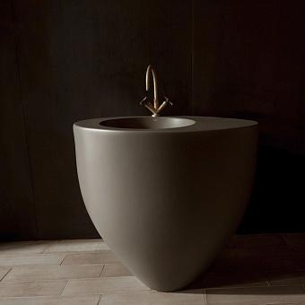 Cielo Le Giare Раковина напольная 88×63×83h см, пристенная, цвет: Arenaria