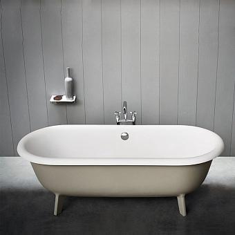 Agape Ottocento Ванна отдельностоящая 178х79х59.5 см, цвет: светло-серая