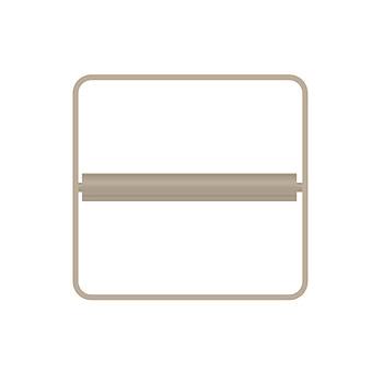 Bertocci Fly Держатель для туалетной бумаги, подвесной, цвет: nichel mat