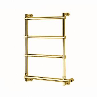 Margaroli Sole Полотенцесушитель электрический 57х10.5х66см., межосевое расстояние: 47см., цвет: золото