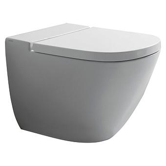 GLOBO Stockholm Унитаз напольный пристенный 58х37хh42см, слив универсальный, цвет: белый