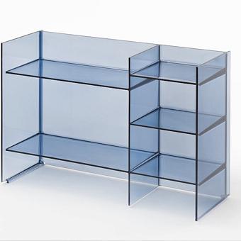 Laufen Kartell Стеллаж, 750х260х530мм, пластик, цвет: синий