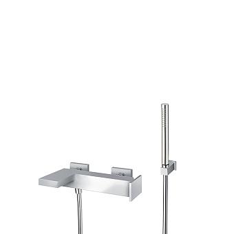 Cristina Tabula Смеситель для ванны с ручным душем, 3 отв., цвет: хром