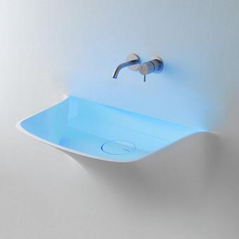 Antonio Lupi Soffio Раковина встраиваемая 86х56х77.5 см с Led подсветкой