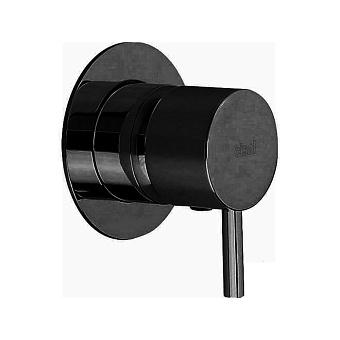 CISAL Less New Встраиваемый однорычажный смеситель для душа, цвет: черный матовый