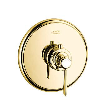 Axor Montreux Термостат Highflow 59 л / мин, СМ,  (рычажные рук.), цвет: полированное золото