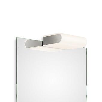Decor Walther Book 1-15 LED Светильник на зеркало 15x11.5x4.5см, светодиодный, 1x LED 6.2W, цвет: никель сатинированный