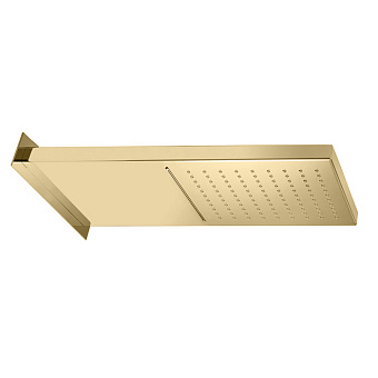Bongio Soffioni Верхний душ 501х200 мм, 2 режимный, цвет: золото