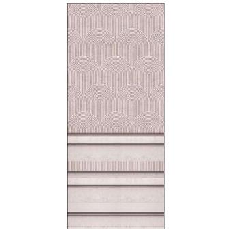 Ornamenta Operae Керамическая плитка 120х278см, настенная, декор: Boiserie Pink