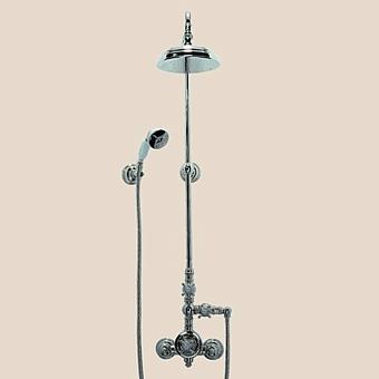 Herbeau Royale Термостатический смеситель для душа на 3 отверстия, цвет блестящий никель