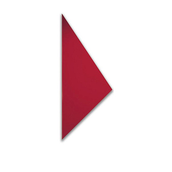 Cinier Triangle Дизайн-радиатор 175x240x130 см. Мощность 1100 W. С покрытием искусственным камнем Olycale
