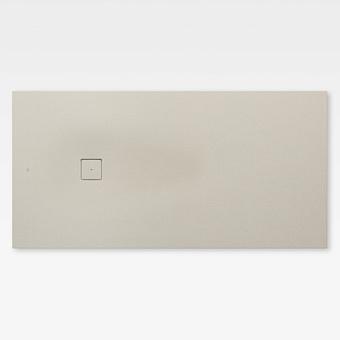 Armani Roca Baia Душевой поддон 200х100х3.2см с боковым сливом, с anti-slip, мат-л: Stonex, цвет: greige