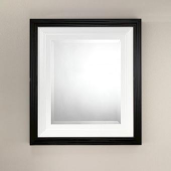 Devon&Devon Plaza Зеркало, цвет: черный/белый