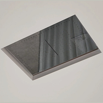 Antonio Lupi Meteo Встраиваемый верхний душ, 52x35x11см, цвет: зеркальная сталь