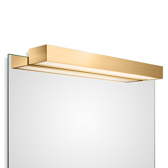 Decor Walther Box 1-60 N LED Светильник на зеркало 60x10x5см, светодиодный, 1x LED 32.8W, цвет: золото матовое