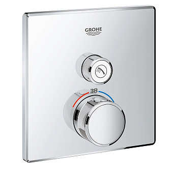 Grohe Grohtherm SmartControl Термостат для встраиваемого монтажа на 1 выход, хром