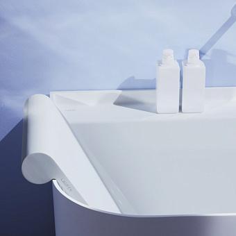 Laufen Sonar Спинка для ванны 400x90x640мм, цвет: серый