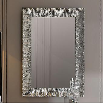 KERASAN Retro Зеркало Specchiera 70x100см, цвет: серебро состаренное