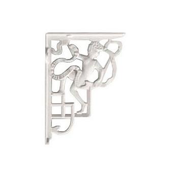 Devon&Devon Westminster Декоративные скобы 12хh255 см, для высокого бачка (в комплекте пара), цвет: белый