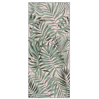 Ornamenta Operae Керамическая плитка 120х278см, настенная, декор: Tropical Jungle Pink