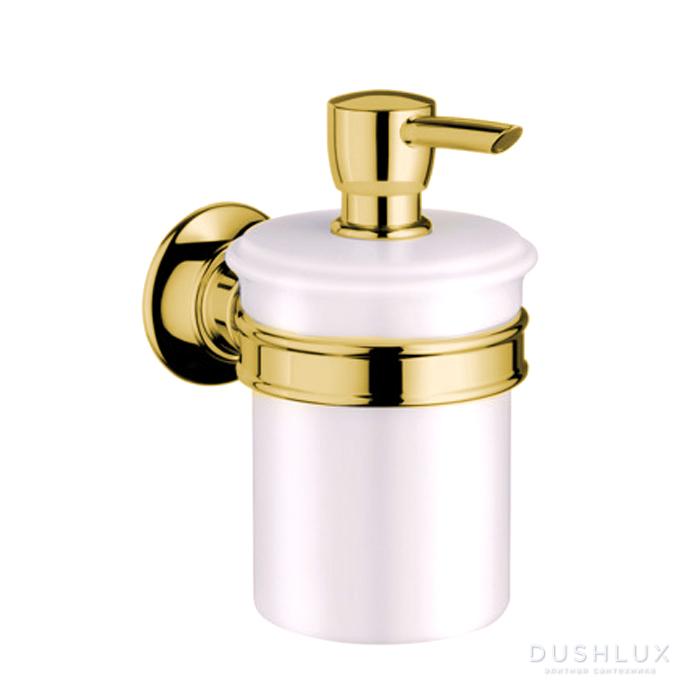 Axor Montreux Дозатор для жидкого мыла, цвет: полированное золото
