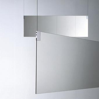 Agape Insegna Зеркало двухстороннее 160x40 см, цвет: хром