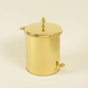 Cristal et Bronze Prestige Ведро с крышкой и педалью и декорированным краем