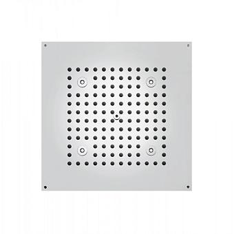 BOSSINI DREAM-CUBE Верхний душ 470 x 370 мм с 4 LED RGB, блок питания/управления, Cromoterapia, гибкая подводка, цвет: хром