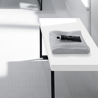 Burgbad Coco Скамья 70x35x34 см, цвет белый
