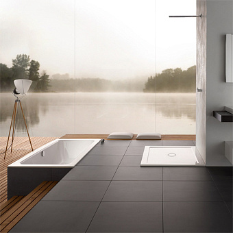 Bette One Ванна встраиваемая 170х70x42 см, с шумоизоляцией, BetteGlasur® Plus, цвет: белый
