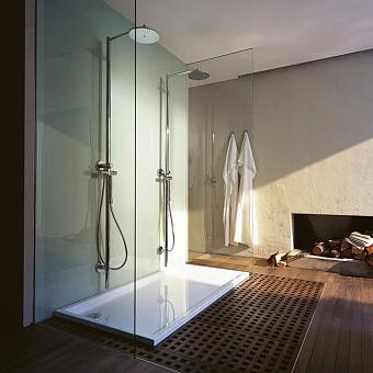 Axor Showers Душевая система Душевая колонна с термостатом и верхним душем Ø 240 мм, ½', цвет: хром