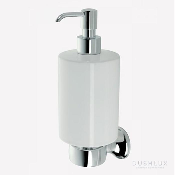 Webert Opera Дозатор для жидкого мыла подвесной, керамика, цвет: хром