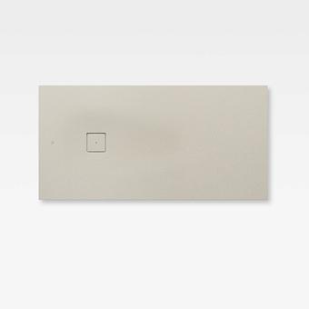 Armani Roca Baia Душевой поддон 160х80х3.1см с боковым сливом, с anti-slip, мат-л: Stonex, цвет: greige