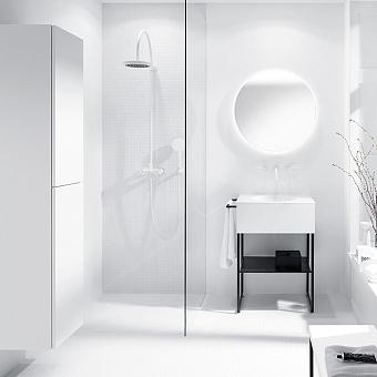 Burgbad Coco Подвесной шкаф 35x35x176 см, цвет белый