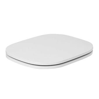 AZZURRA GLAZE Сиденье для унитаза, цвет: белый/хром