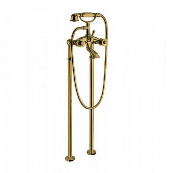 Bongio Impero Смеситель для ванны, цвет золото/Swarovski