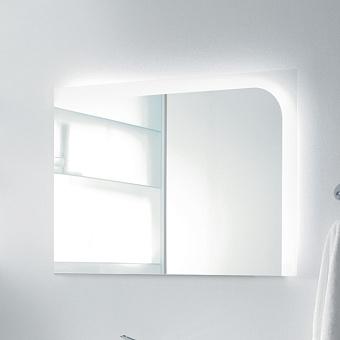 Burgbad Sinea Зеркало с подсветкой 90x64 см, сенсорный выкл. белый гл.