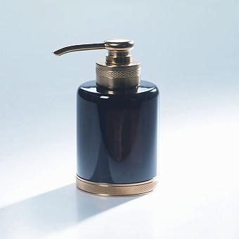 Cristal et Bronze Obsidian Диспенсер для жидкого мыла на 240 мл, цвет: золото