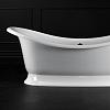 Victoria + Albert Marlborough, Ванна 190.1х87х72,8 см, quarrycast, Цвет: белый