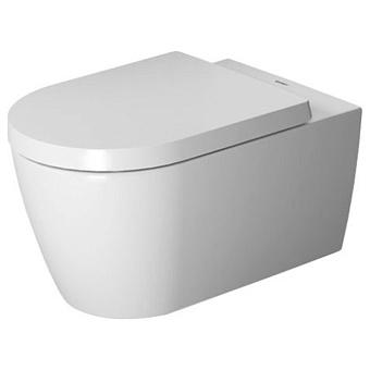 Duravit Me by Starck Комплект: подвесной унитаз  56х37см, Rimless 252909+ сиденье с мягким закрыванием 002009, цвет: белый