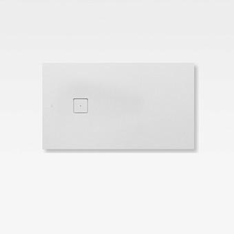 Armani Roca Baia Душевой поддон 140х80х3.1см с боковым сливом, с anti-slip, мат-л: Stonex, цвет: off-white